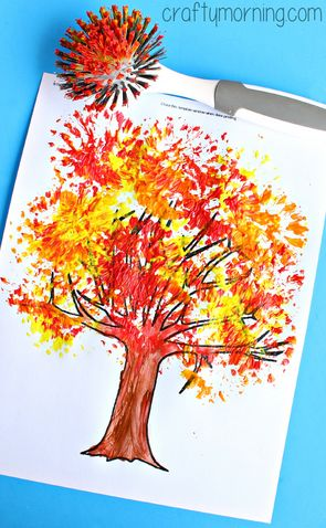 Copac de toamna 1